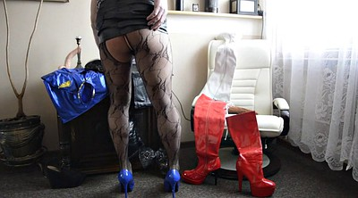 Boots, Gay pantyhose, Boot