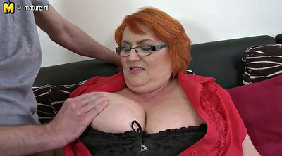 Old mom, Huge, Mom bbw, Breasts