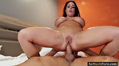 Angela white, Angela, Many, White tits