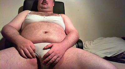Fat guy, Bra, Bbw panties, Gay fat