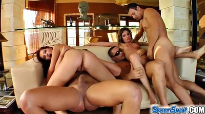 Two couples, Huge load