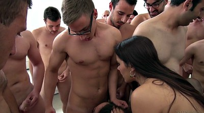 Gagged, Crazy, Group sex orgy