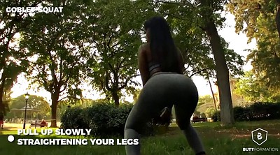 Porn star, Porn compilation, Workout, Legs, Yoga pant