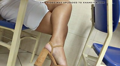 High heels, Girl foot
