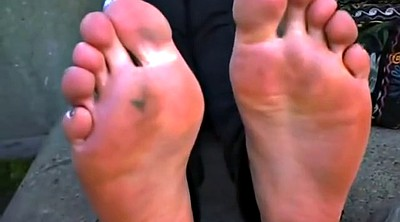 Fetish, Footing, Sole, Stinky foot