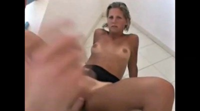 Czech couples, Czech couple, Balcony, Czech blowjob