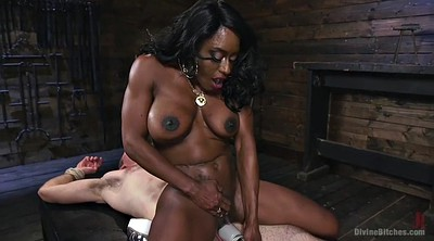 Facesitting, Mature creampie, Mature slave, Ebony creampie, Mature clit, Femdom riding