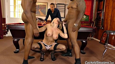 Wife threesome, Double wife, Wife interracial