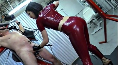 Latex, Femdom whip, Mistress whipping