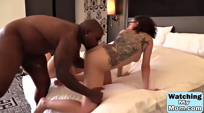 Big black, Ebony threesome