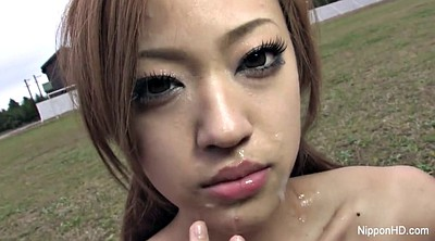Japanese suck, Asian facial