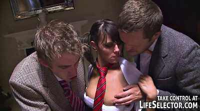 Student, Story, Young threesome