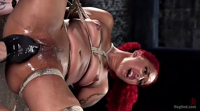 Blacked, Hang, Ebony squirt, Black bondage