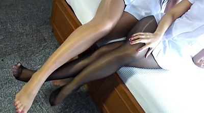 Pantyhose, Japanese foot, Japanese pantyhose, Asian pantyhose, Asian foot, Pantyhose foot