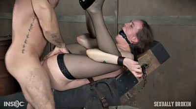 Brutal, Sexy stockings, Stock, Bound, Anal squirt, Stockings heels