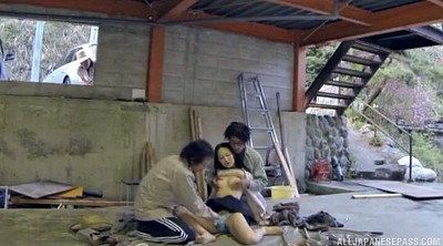 Long hair japanese, Japanese gay, Doggy, Asian threesome