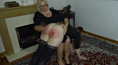 Spanking punishment, Maid