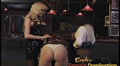 Three some, Bar, Three, Hard spank, Hard spanking