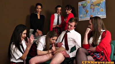 Group sex, Spanking girls, British sex