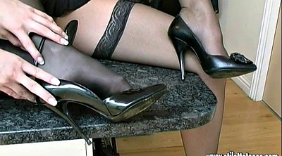 High, Heel shoes, Shoes, Nylon high, High heels, Heel nylon
