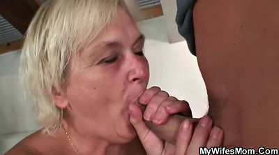 Mom, Taboo, Old and young, Granny sex, Blonde mom
