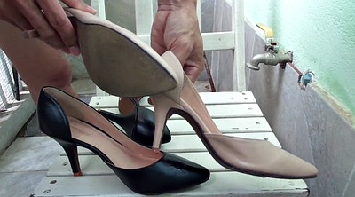 Heels, High heels, Shoe, Cum shoe, Sperm, High-heeled shoes