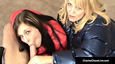 Mommy, Kelsi, Mature threesome, Mommy handjob, Chase