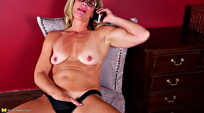 Phone, Real mom, Amateur mature