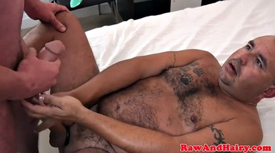Bear, Kissing fuck, Hairy big ass