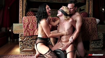 Swallow, Blindfolded, Sybian, Lucky b, Blondie, Blindfold