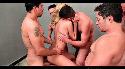 Throat, Double gangbang, Shemale handjob, Shemale group, Shemale double, Big shemale