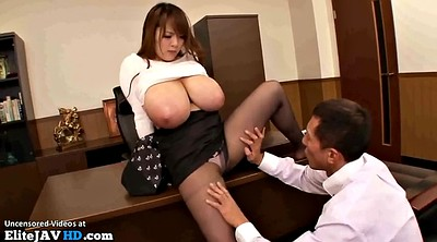 Japanese office, Office lady, Japanese pantyhose, Japanese massage, Secretary, Japanese interracial