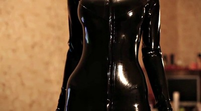 High girl, Pvc, Catsuit