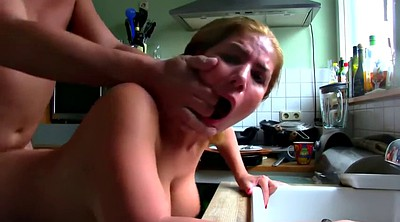 Russian milf, Kitchen