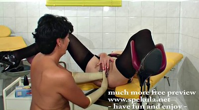 Latex, Piercing, Gloves, Anal fist, Anal fisting lesbian
