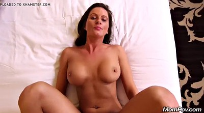 Mom creampie, Mom pov