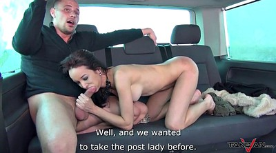 Taxi, Czech casting, Pussy cum, Cum on pussy, Pussy public, Cum on hairy