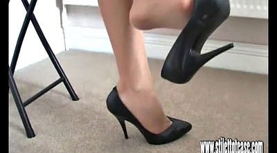 Heels, Long leg, High, High-heeled