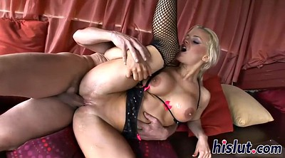 Threesome mature, Blonde mature, Anal blond