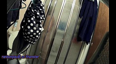 Voyeur wife, Wife shower, Shower hidden, Hidden wife, Hidden shower