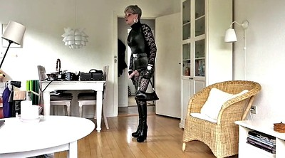 Masturbate, Stocking, Leather