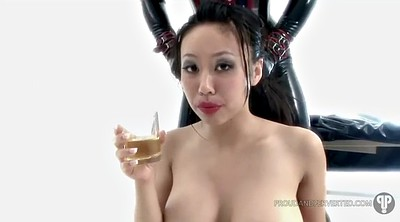 Asian pee, Urine, Drink, Asian femdom, Urinate, Drink urine