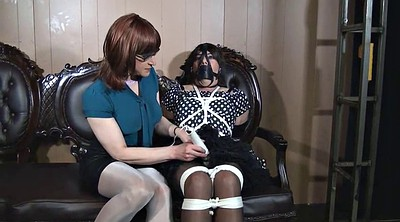 Crossdress, Tickling, Tickle, Tie, Sandra, Crossdresser bondage
