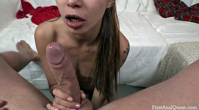 Skinny anal, Student anal