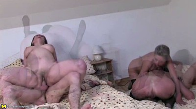 Young mom, Granny group, Boy mature