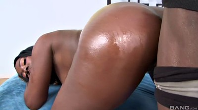 Blacked, Huge black cock, Ebony anal