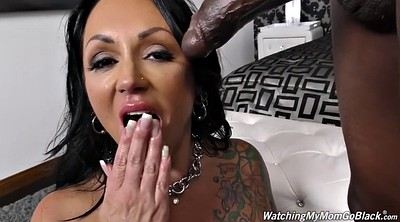 Interracial cuckold, Stepmom stepson, Pierced, Blaked, Big black