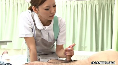 Japanese nurse, Japanese handjob, Japanese cumshot, Asian nurse
