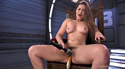 Dani daniels, Hairy solo, Machines, Hairy masturbation, Solo chubby, Machine fuck