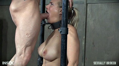 Strapon threesome, Deep, Bondage strapon